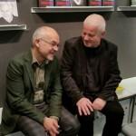 Herbert Woyke und Dariusz Muszer auf der Frankfurter Buchmesse 2015